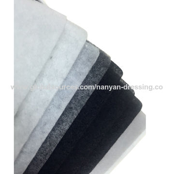 China Spray punch cotton for shoulder pads nonwoven fabric garment accessories