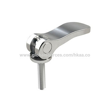 Hong Kong SAR Aluminum bicycle pedals with threaded shaft, CNC machining TS:ISO 16949 manufacturer
