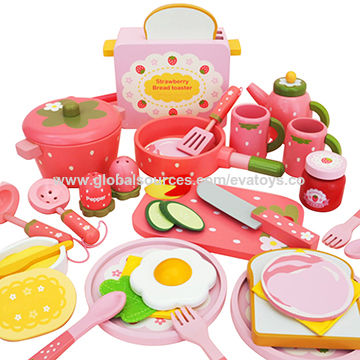China Wooden Mini Kitchen Set Toys From Wenzhou Wholesaler Wenzhou