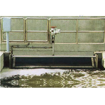 China DHY Electric Revolving Weir Gate