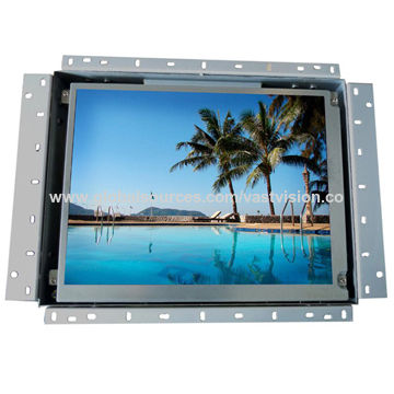 15-inch SAW touch panel LCD monitor for kiosk terminal