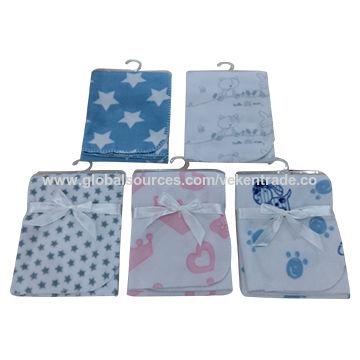Baby's Print Polar Fleece Blanket