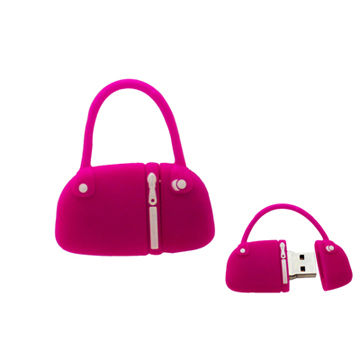 Mini Bag Shaped Promotional USB Flash Drives, Available in Various Capacities