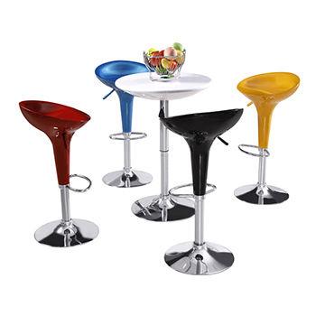 China Wholesale swivel bar stool, ABS