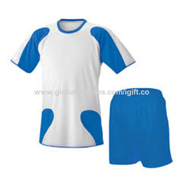 Soccer uniforms, new design, made of 100% polyester, BSCI certified