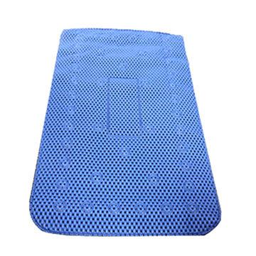 Anti-slip Bath, Mat Made of Soft PVC Foam Fabric, Overall Length of 69cm/Width of 40cm