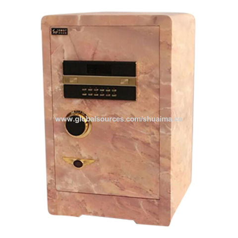 China Safe box, 380W*340*600mm, marble color