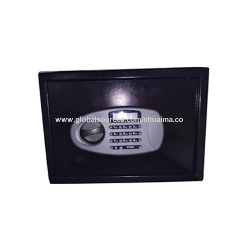 China Safe Box, LED display with one shelf, 350*250*250mm