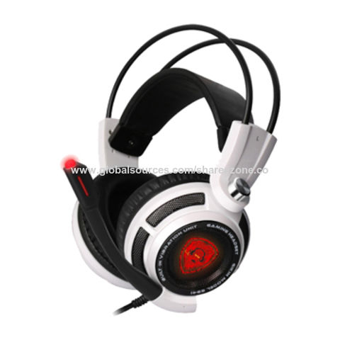 Hot selling gaming headset with vibration
