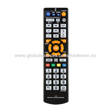 China Universal Learning Remote Control, Suitable for TV, SAT, DVD, CBL, CD, DVB-T