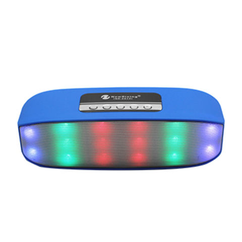 China 2016 New Products Good Quality LED Light Bluetooth Speaker