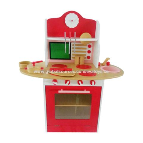 China 2016 New Design Children Wooden Funny Kitchen Set W10c130 On