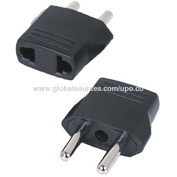 Hong Kong SAR AC Travel Adapter for 110 to 250V Power, Convertible for the US to EUR Power Plug