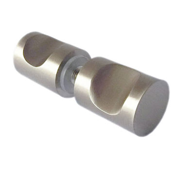 Taiwan Glass shower door brass knob, back to back or single mount