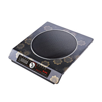 China 1800W single copper coil portable magnetic induction stove for cooking