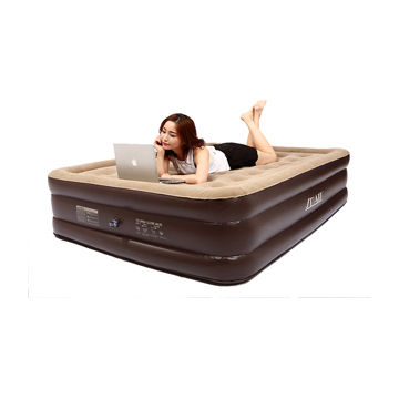 Double height air bed, air mattress with queen size and high quality