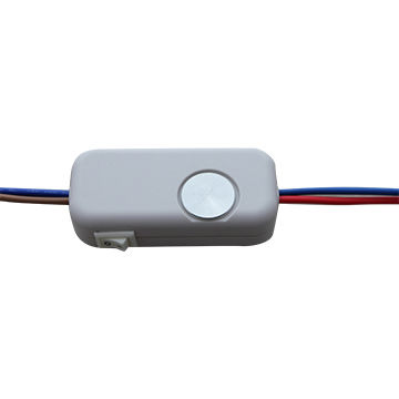In-line touch dimmer with switch