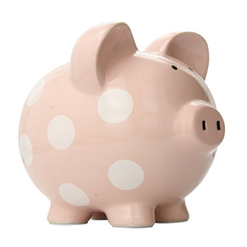 Money boxes, ceramic coin bank, piggy bank, OEM and ODM are welcome