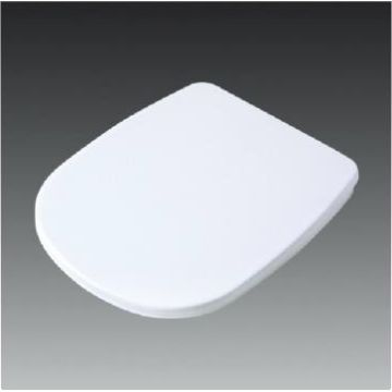 China PP Plastic Toilet Seat Cover with Soft Close Hinge