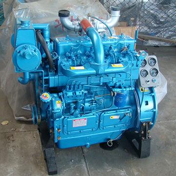 Boat diesel engines