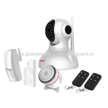 Wolfguard IP wifi Smart home security alarm system camera with APP for Android and IOS