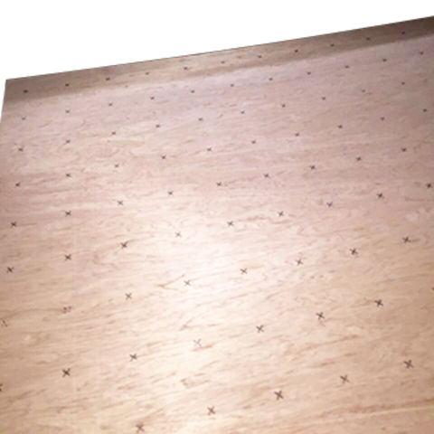China 52mm X 1220x1220mm Flooring Underlay Plywood Poplar Core E0