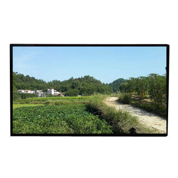 50-inch LED TV with Aluminum Cabinet