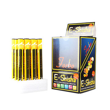 Disposable E-shisha, with many kinds of flavors like strawberry,mandarin,blackberry and so on ,