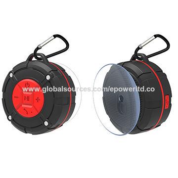 China IPX7 Waterproof Sports Shower Bluetooth Speaker, Hook, Suction