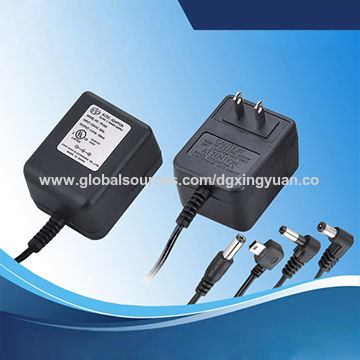 Output 12V AC 0.4A with 120V AC input linear adapter for weather instrument