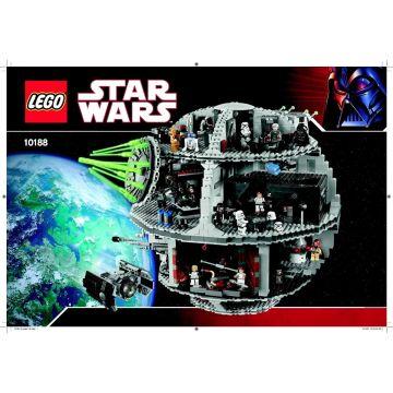Lego Star Wars Instruction Manuals For 10188 Death Star Global