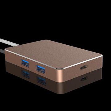China USB 3.1 Type-C Hub with 5 Ports PD supporting suitable for New Macbook