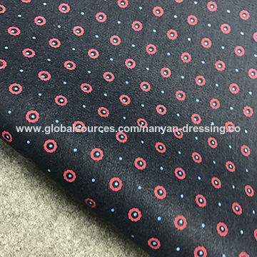 China Printing Under collar felt colthing accessories lining fabric for suit