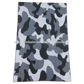 Camouflage Printed Cashmere Scarves, Soft and Warm Designs