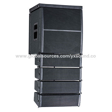 China Linear Array, Subwoofer Peak Power is 1200W Sensitivity is 103dB, Frequency is 50-250Hz