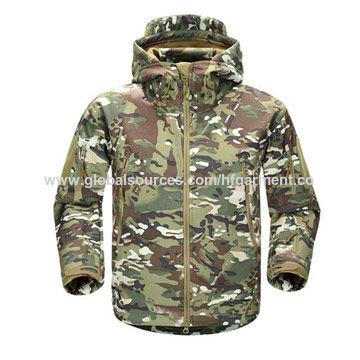 1ba37aa668544 China Military Softshell Outdoors Camouflage Hunting Jacket, Customized  Design/Logo/Size/Label ...