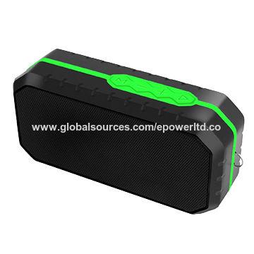 China IPX6 Waterproof Bluetooth Speaker, Outdoor Sports, Hand Strap, Portable, Handsfree Calls