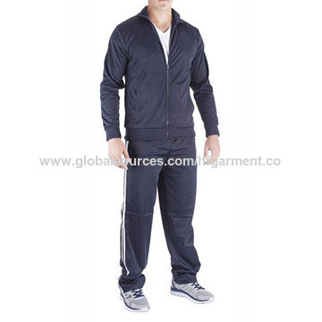 100% polyester sports tracksuits for men in various, customized designs/logos/sizes/labels accepted