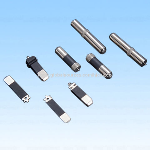 China Pin, made of stainless steel, with plastic cover, widely used for electrical equipment, OEM/ODM