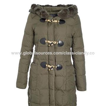 China Ladies' winter jackets