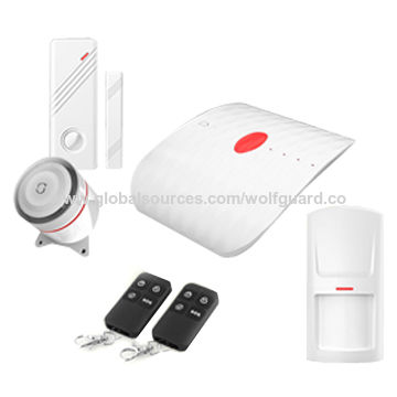 Portable medical nurse GSM wireless auto dialer alarm system with wristband style panic button