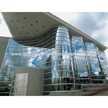 China high performance frameless glass curtain wall from