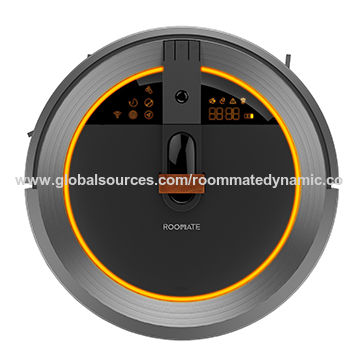 Roommate Robotic Vacuum Cleaner, Dry/Wet Mop with Water Tank, Visual Navigation and Auto Recharge