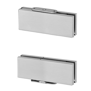 Taiwan Economic door closer, square design for interior glass doors