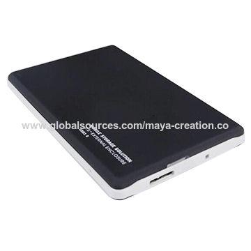 China 2.5 Inches SATA External HDD Enclosure USB 3.0 Support 500GB