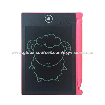 Note Slate, Digital Boogie Board,LCD Writing Tablet, Doodle Freely 4.4 inches