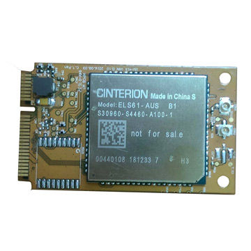 Taiwan WW-4161 4G PCI Express Mini Card supports the latest 4G LTE with seamless fallback to 2G networks.