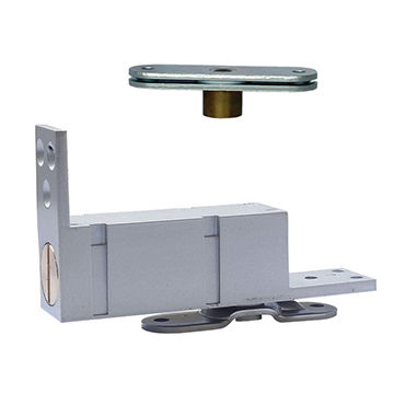 Taiwan Indoor eco door closer, self closing with 90-degree hold open, with narrow base plate