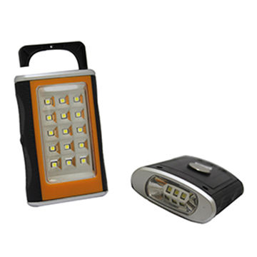 Hong Kong SAR 15 + 3 LED Working Light with ABS Plastic Housing. Requires 3 x AAA Batteries.