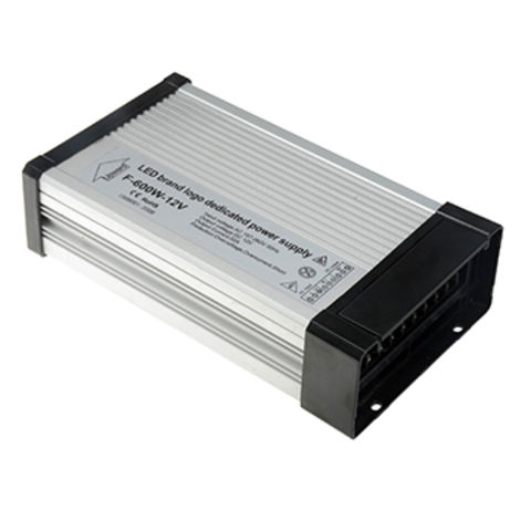 China Waterproof LED Power Supply,12V/50A/600W,Outdoor Installation,Waterproof Rating IP65